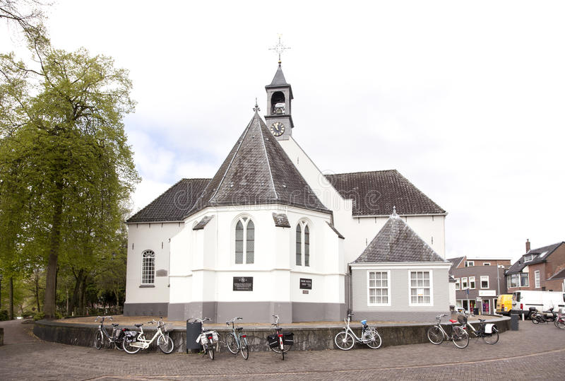 Queijo no mercado do ar livre em Veenendaal foto de stock