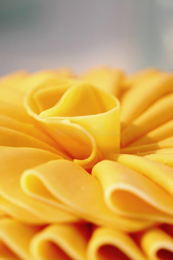 Queijo Prato Macro Close-up Royalty Free Stock Photography