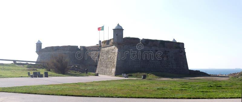 Queijokasteel, Porto, Portugal royalty-vrije stock foto's