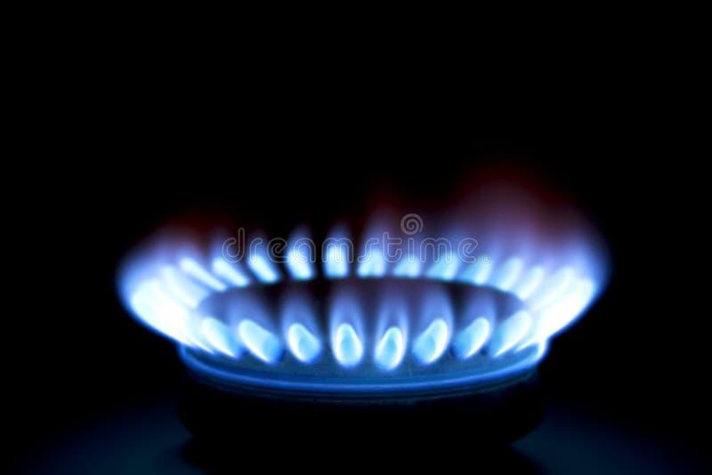 Queimador de gás foto de stock