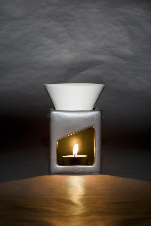 queimador de petróleo Vela-psto imagem de stock royalty free