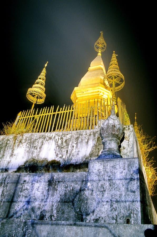 Quel Chomsi- Luang Prabang, Laos immagini stock libere da diritti