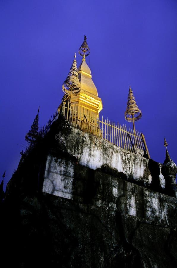 Quel Chomsi- Luang Prabang, Laos immagini stock