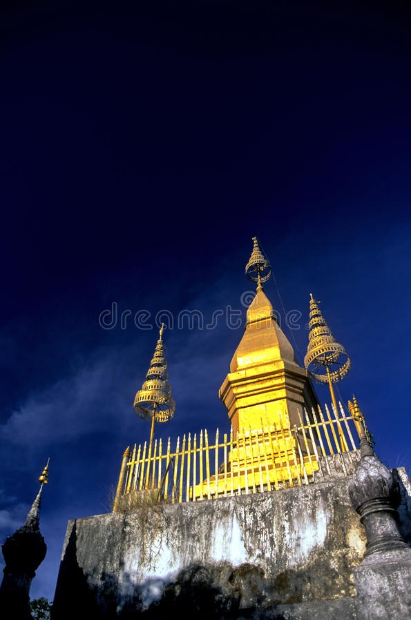Quel Chomsi- Luang Prabang, Laos fotografie stock