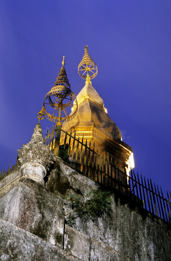 Quel Chomsi- Luang Prabang, Laos fotografia stock