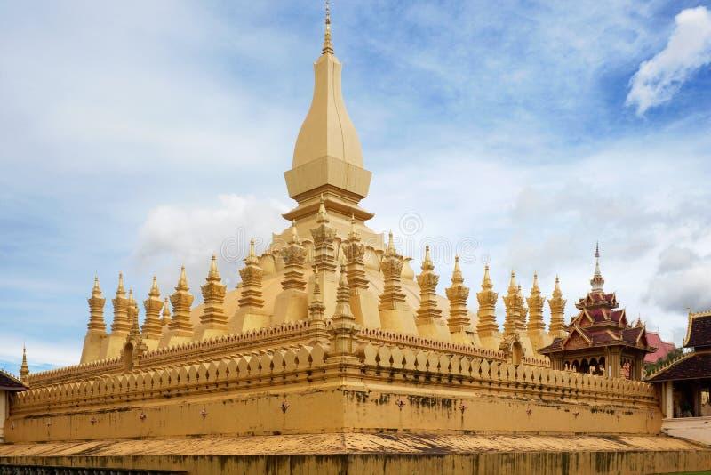 Quel Luang, tempiale Vientiane, Laos immagine stock libera da diritti