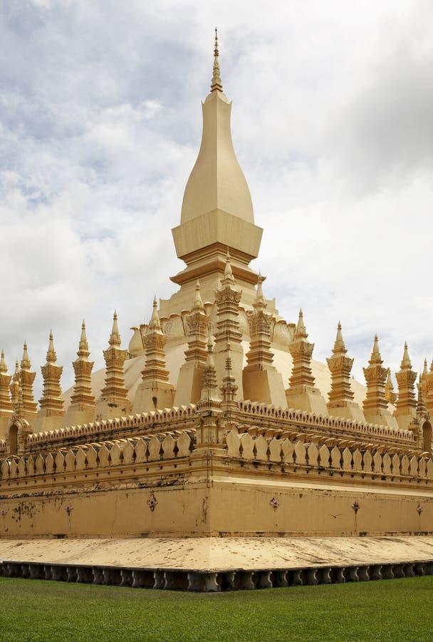 Quel Luang, tempiale Vientiane, Laos immagini stock