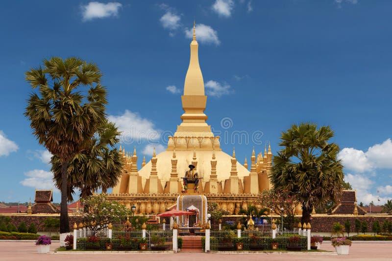 Quel Luang a Vientiane fotografie stock