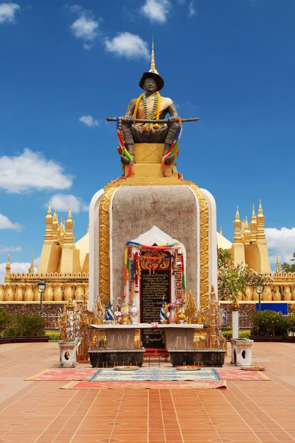 Quel Luang a Vientiane immagini stock