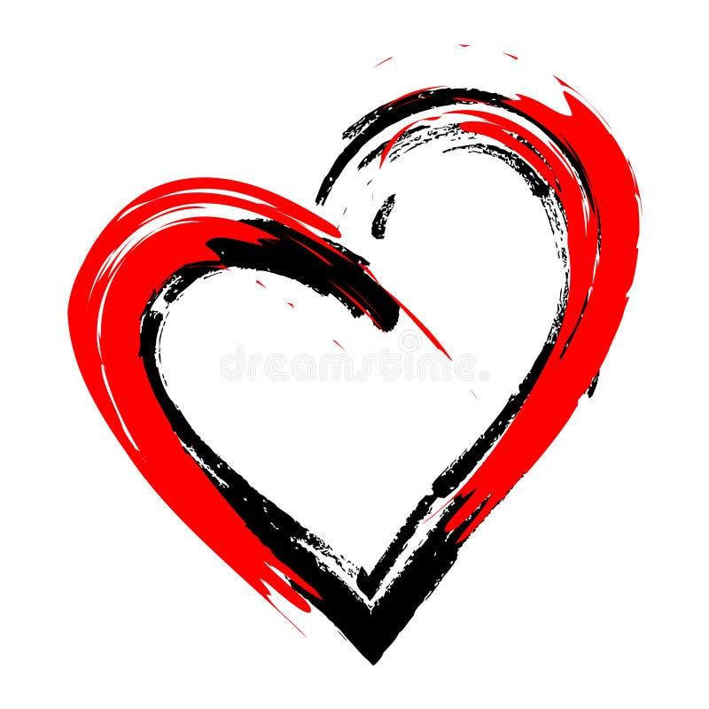 Quelle couleur est votre amour ? Elle est juste moi et elle Voil?. illustration libre de droits