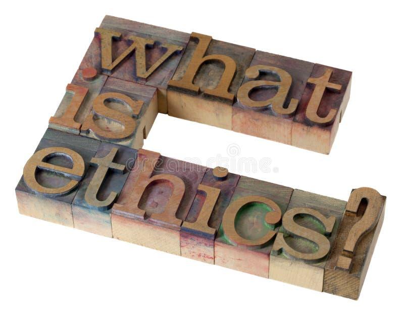 Quelle est éthique ? photos libres de droits