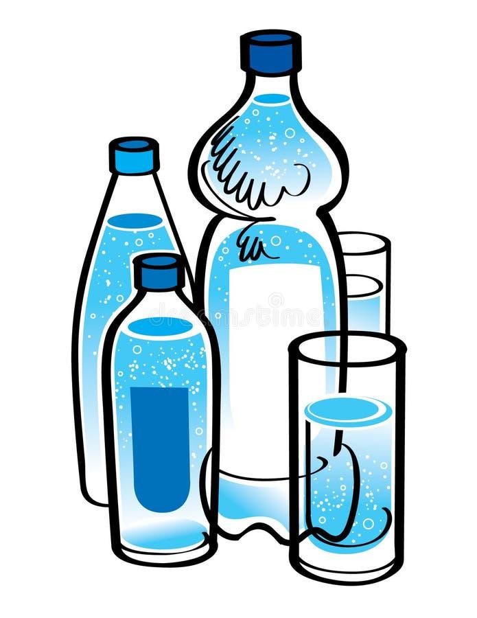 Quellenwasser vektor abbildung