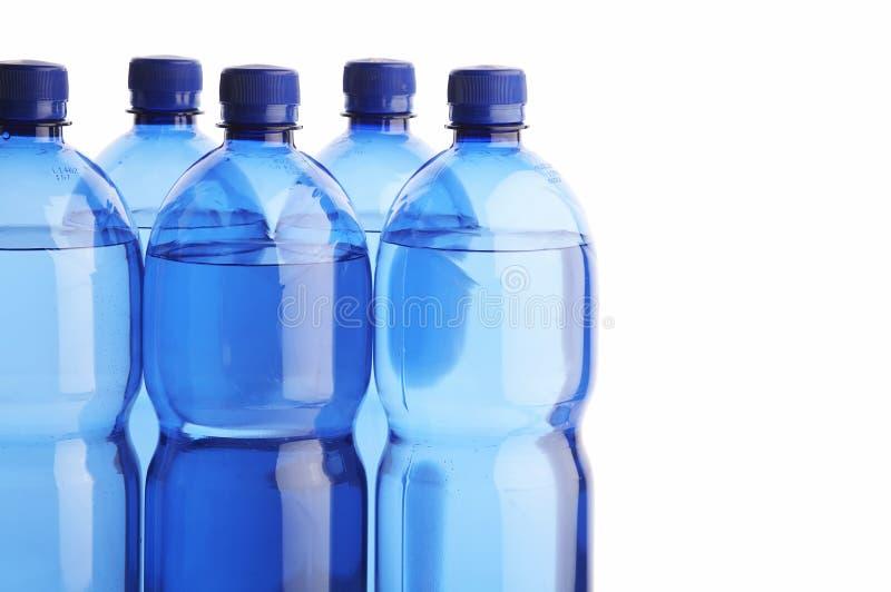 Quellenwasserflaschen lizenzfreies stockbild