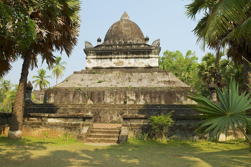 Quello stupa di Mak Mo al tempio di Wat Visounnarath in Luang Prabang, Laos immagine stock