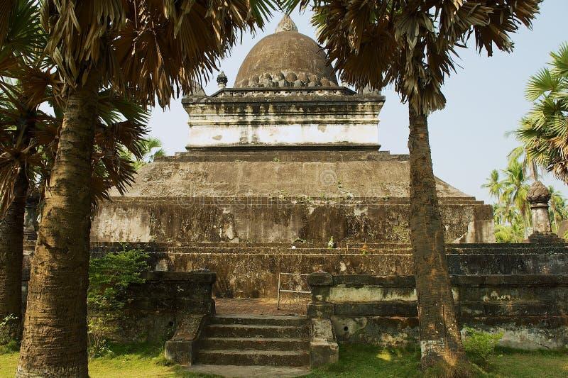 Quello stupa di Mak Mo al tempio di Wat Visounnarath in Luang Prabang, Laos immagine stock libera da diritti