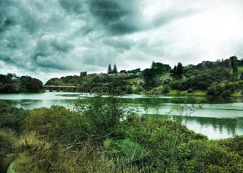 Quelque part à Auckland, le Nouvelle-Zélande photos stock