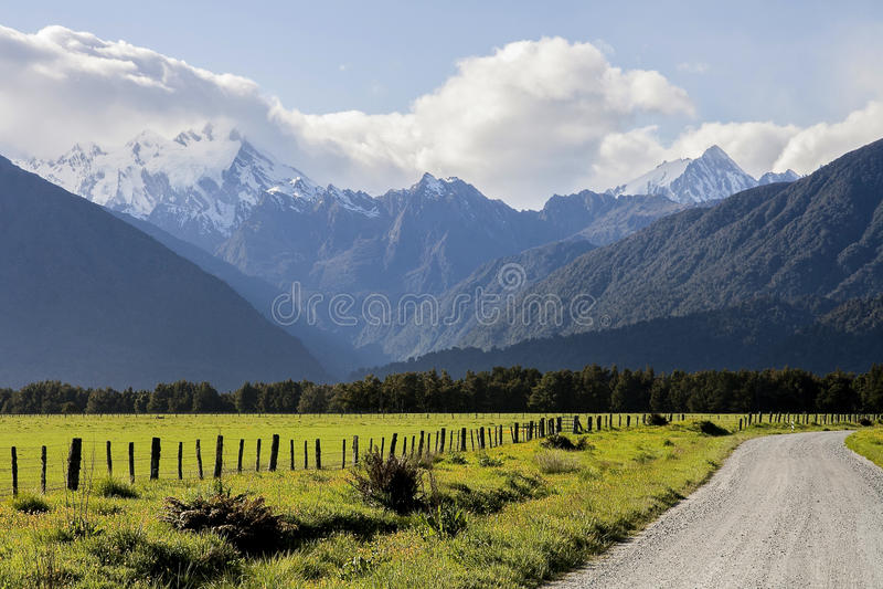 Quelque part en Nouvelle Zélande image stock