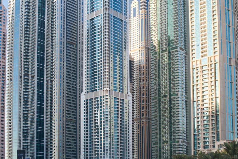 Quelques beaux gratte-ciel Constructions de Berlin images libres de droits