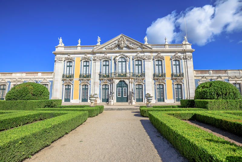 Queluz National Palace royalty free stock photos