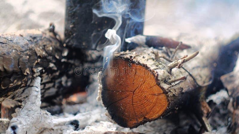 Quemaduras del fuego foto de archivo libre de regalías