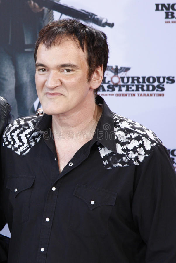 Quentin Tarantino fotografia stock