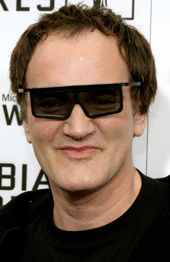Quentin Tarantino zdjęcie stock