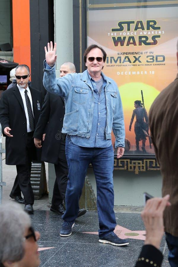 Quentin Tarantino obraz royalty free