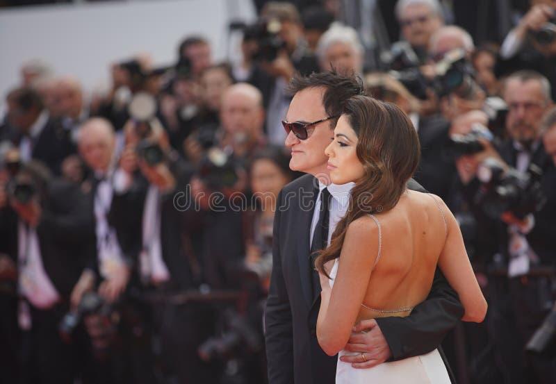 Quentin Tarantino & Daniela wybór zdjęcie royalty free