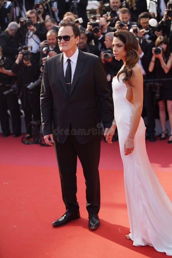 Quentin Tarantino & Daniela wyb?r obraz stock