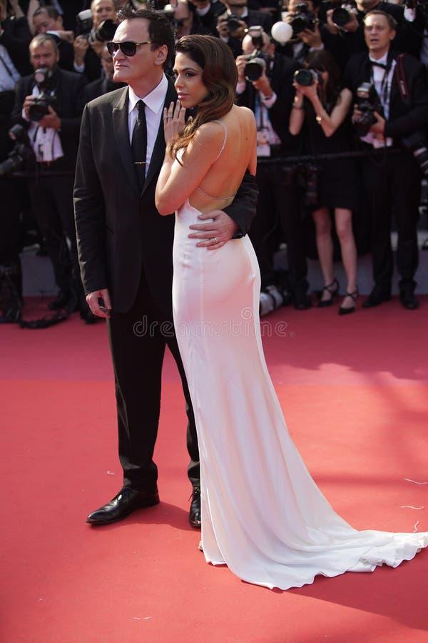 Quentin Tarantino & Daniela wyb?r zdjęcia stock