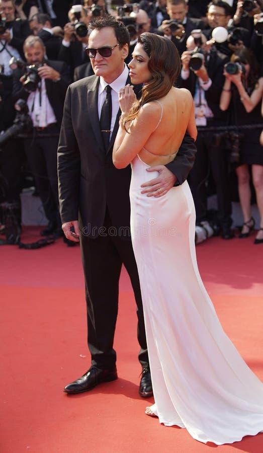 Quentin Tarantino & Daniela wyb?r zdjęcie royalty free