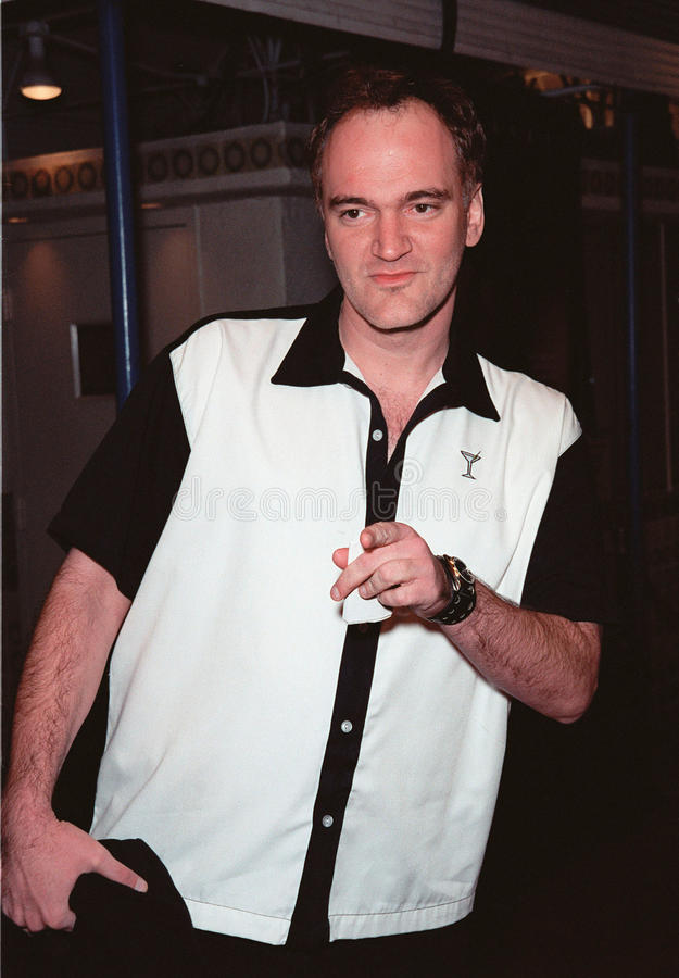 Quentin Tarantino. 06DEC99: Director QUENTIN TARANTINO at the world premiere, in Los Angeles, of The Green Mile. Paul Smith / Featureflash royalty free stock image