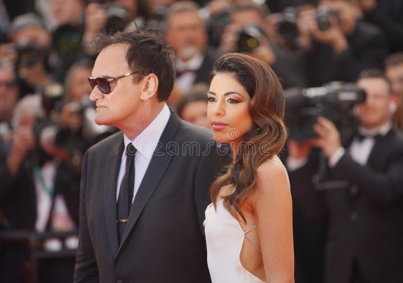 Quentin Tarantino i Daniela wyb?r zdjęcia royalty free
