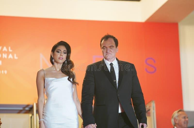 Quentin Tarantino i Daniela wyb?r zdjęcia stock
