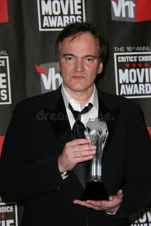 Quentin Tarantino lizenzfreie stockbilder