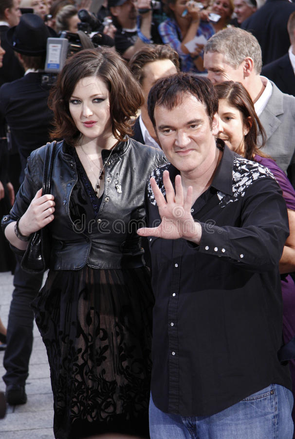 Quentin Tarantino. JULY 28, 2009 - BERLIN: Quentin Tarantino at the German premiere of the movie Inglorious Basterds, Theater am Potsdamer Platz, Berlin royalty free stock images