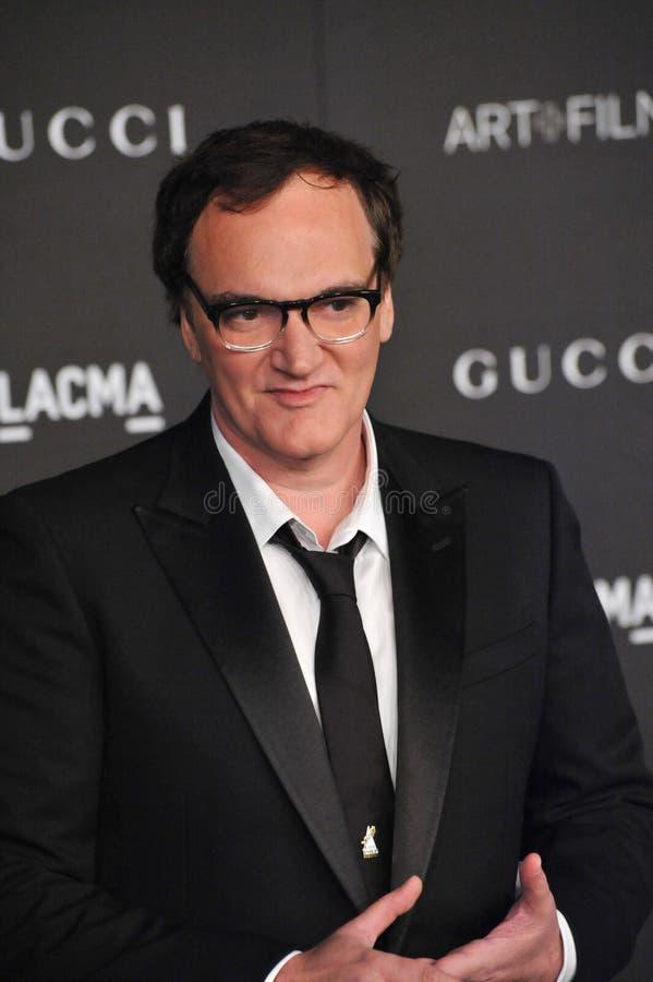 Quentin Tarantino. LOS ANGELES, CA - NOVEMBER 1, 2014: Quentin Tarantino at the 2014 LACMA Art+Film Gala at the Los Angeles County Museum of Art royalty free stock photography