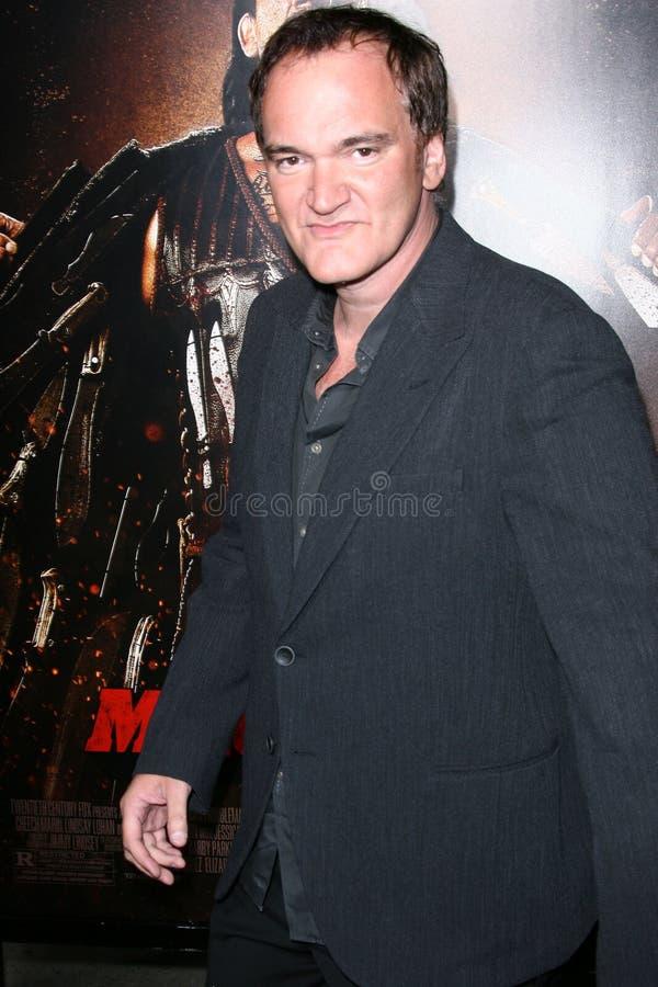 Quentin Tarantino. At the 'Machete' Los Angeles Premiere, Orpheum Theater, Los Angeles, CA. 08-25-10 stock photos