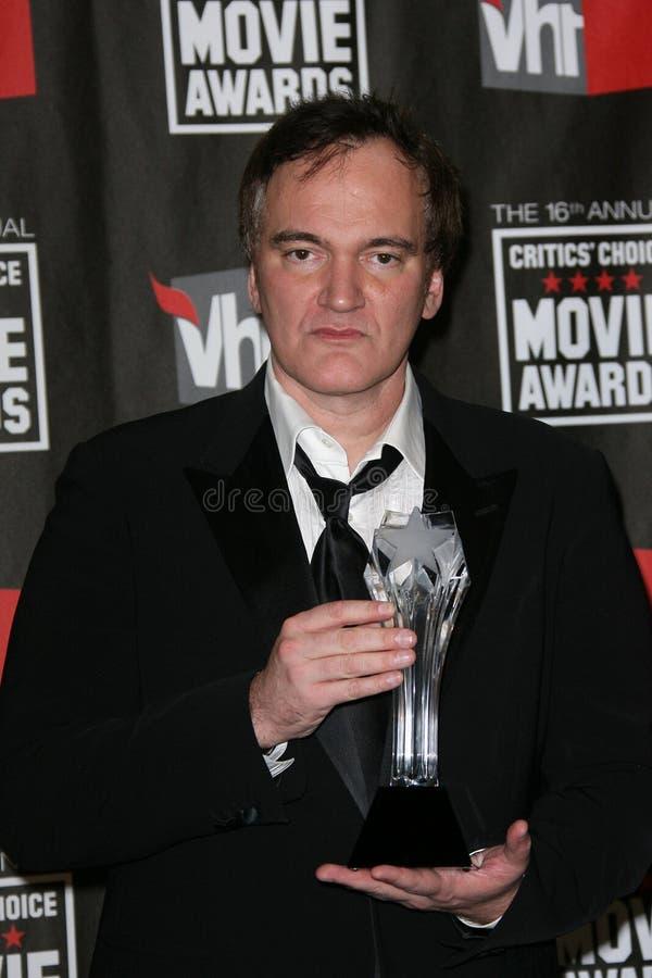 Quentin Tarantino royaltyfria bilder