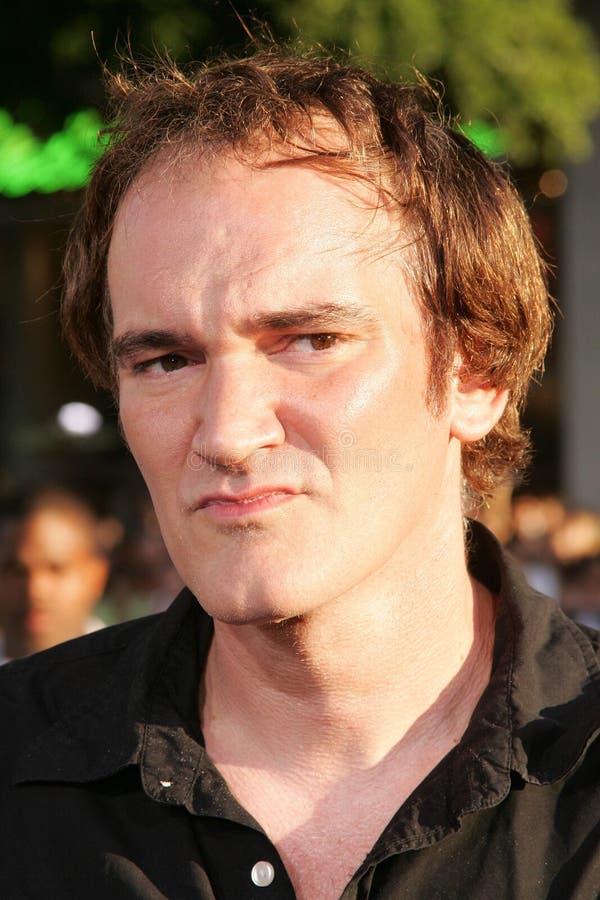 Quentin Tarantino royaltyfri fotografi