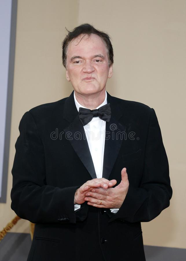 Quentin Tarantino obrazy royalty free