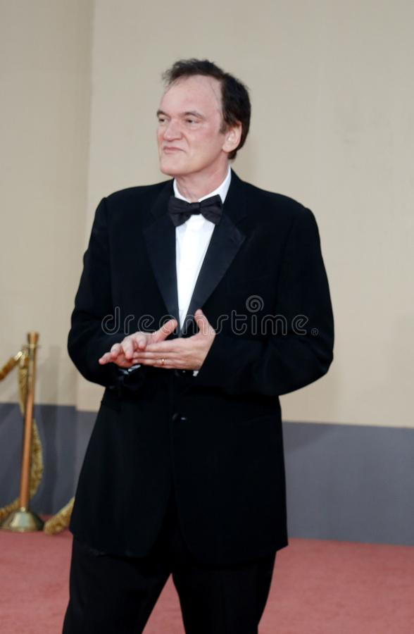Quentin Tarantino. At the Los Angeles premiere of `Once Upon a Time In Hollywood` held at the TCL Chinese Theatre IMAX in Hollywood, USA on July 22, 2019 stock photo