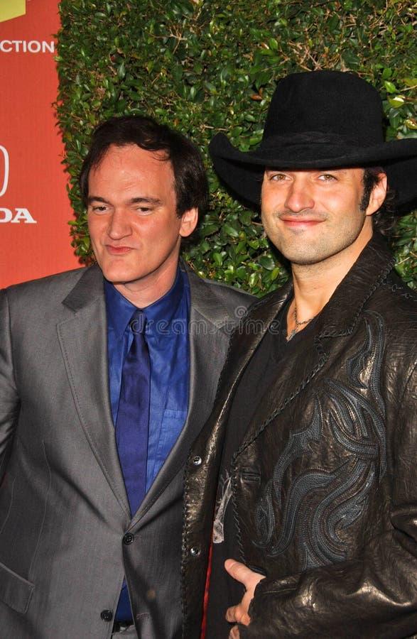 Quentin Tarantino, Robert Rodriguez imagens de stock