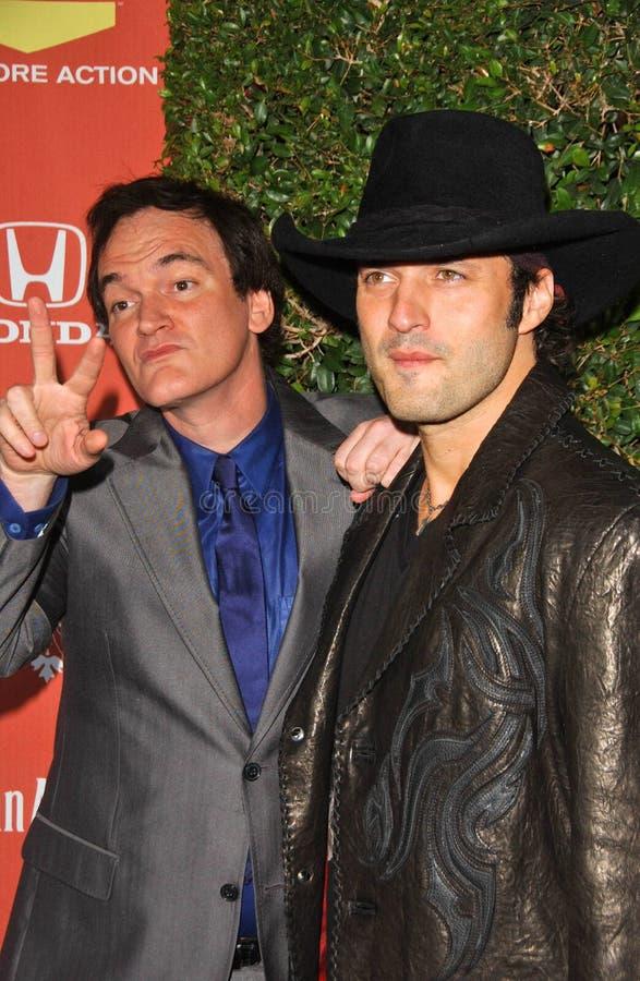 Quentin Tarantino, Robert Rodriguez fotografie stock