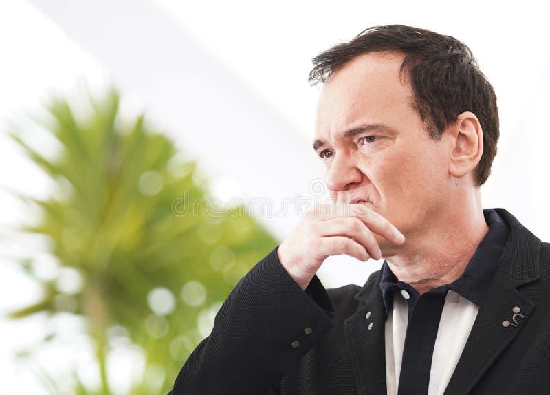 Quentin Tarantino uczęszcza photocall obraz stock