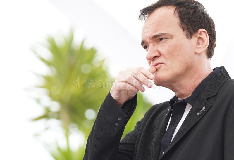 Quentin Tarantino uczęszcza photocall fotografia stock