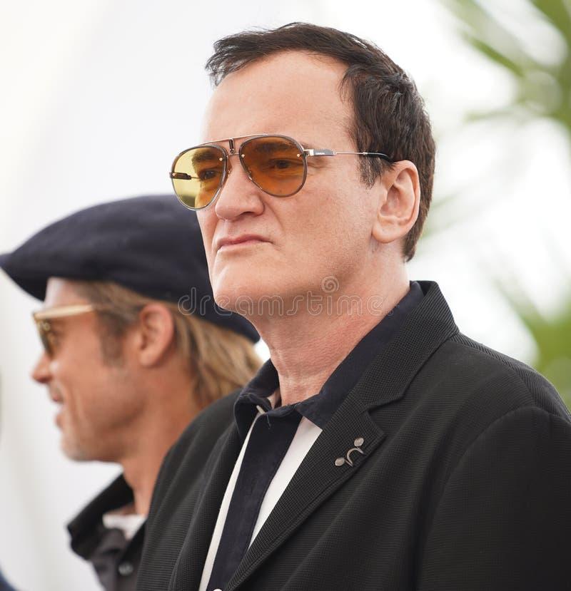 Quentin Tarantino uczęszcza photocall zdjęcia royalty free
