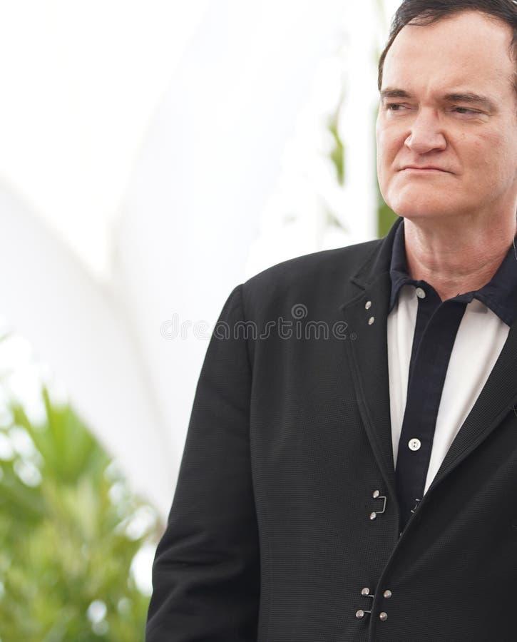 Quentin Tarantino uczęszcza photocall obrazy royalty free
