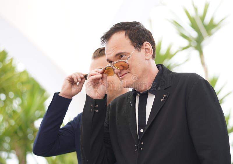 Quentin Tarantino uczęszcza photocall f fotografia royalty free