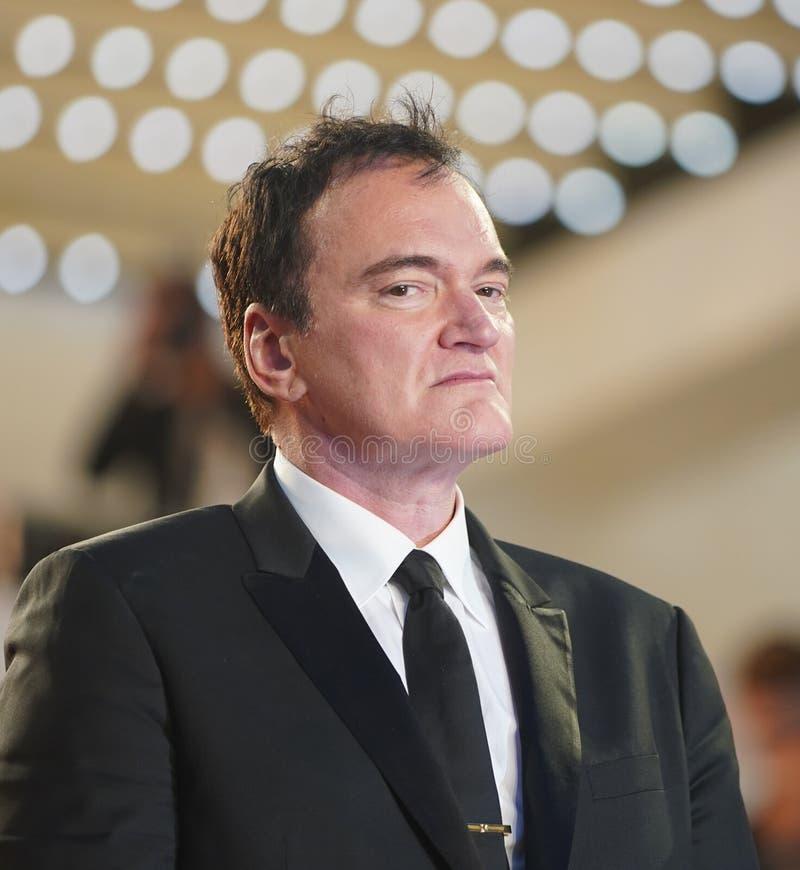 Quentin Tarantino uczęszcza przesiewanie fotografia stock